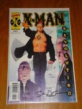 X-MAN #63 DYNAMIC FORCES SIGNED STEVEN GRANT MARVEL COMICS REVOLUTION