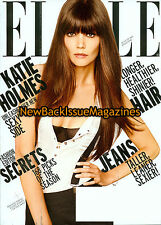 Elle 8/12,Katie Holmes,Subscription Cover,August 2012,NEW