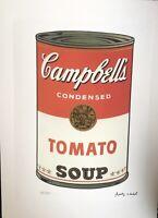 Andy Warhol Print Signée Et Numérotée