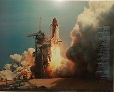 "David Franklin "" SPACE SHUTTLE PAD 'B""  S/N Limited Edition Print"