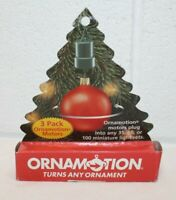 Ornamotion Rotating Ornament Motor Hook Vintage Christmas NEW 3 pack! Midwest