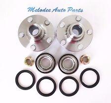 2 Front  Wheel Hub & Bearing Set For Subaru Impreza / Legacy / Forester / Baja