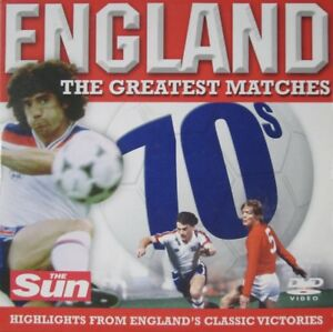 ENGLAND THE GREATEST MATCHES DVD 1970S EURO - HOME NATIONS - WEST GERMANY