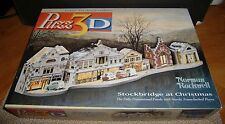 PUZZ 3D NORMAN ROCKWELL STOCKBRIDGE AT CHRISTMAS JIGSAW PUZZLE COMPLETE/BOX