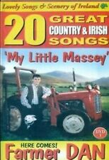 FARMER DAN MY LITTLE MASSEY - 20 GREAT COUNTRY & IRISH SONGS DVD