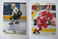 1992-93 Upper Deck #586 Kariya Paul  RC Rookie  canada