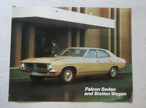 XB Ford Falcon Sedan and Station Wagon Sales Brochure