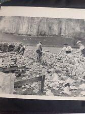 Ephemera 1961 Picture Walling Match Wharfdale Kilnsey Crag ea2