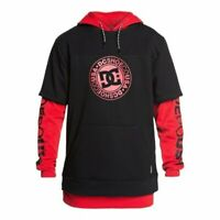 Dc shoes dryden dwr 3 in 1 hoodie racing red 2020 felpa snowboard new xs s m ...