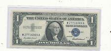 1957 $1 blue seal note cu