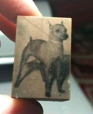 Vintage Letterpress Printing Block Miniature Pinscher? Dog