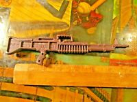 "8"" TOY PLASTIC MACHINE GUN VINTAGE"