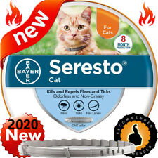 Bayer Seresto Flea and Tick Collar for Cat 8 Month Protection and Control