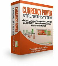 The Currency Power Strength System INDICATOR System Metatrader4 Forex FX Trading
