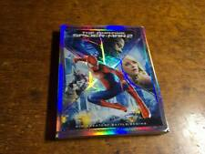 The Amazing Spider-Man 2 3D Laser Cover (Blu-ray/DVD, 2014, 3-Disc Set) NO CODE