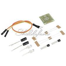 5MM LED Simple Flash Light Simple Flash Circuit DIY Kit AU