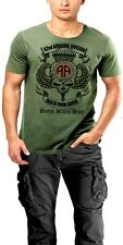 US Army 82nd Airborne Division T-Shirt All American Death From Above Military