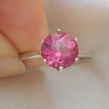 2.30ct Pink Topaz Solitaire Ring