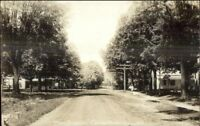 Crown Point NY Main St. c1910 Real Photo Postcard