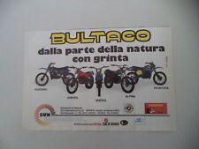 advertising Pubblicità 1979 BULTACO FRONTERA/SHERPA/ALPINA/PURSANG