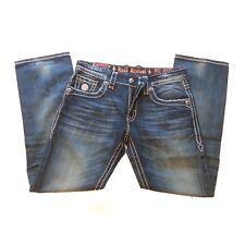 Rock Revival Jeans Men Size 34x34 Straight