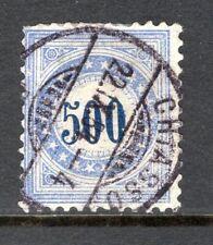 Switzerland - 1882 Postage Due -  Mi. 14 N VFU (top short perfs.)