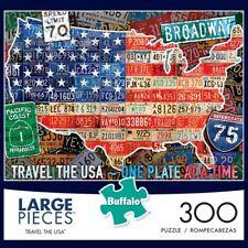 NEW Buffalo Puzzle - Travel The USA - 300 Large Piece Jigsaw Puzzle 92500