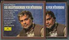 4 CDs box Eugen JOCHUM : Wagner Mastersingers.. / DGG W. Germany, full silver