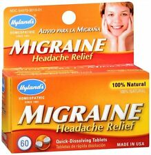 Hyland's Migraine Headache Relief Quick-Dissolving Tablets 60 Tablets