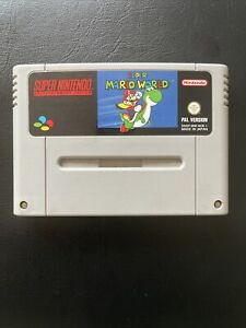 Super Mario World SNES Spiel Modul Super Nintendo