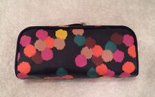Fossil Key Per Multi Navy Dot Accessory Cosmetic Organizer Bag Pouch