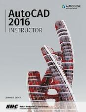 NEW AutoCAD 2016 Instructor by James Leach