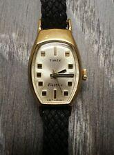 Vintage Timex  Elektro-Mechanisch Damen Armbanduhr  von 1969  10k.Rolled Gold