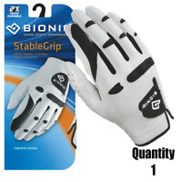 Bionic Golf Glove - StableGrip - Mens Right Hand - White - Leather Medium/Large