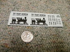 Herald King decals HO Toy Train Museum Strasburg Pa black   XX278