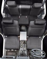 Smittybilt Full Custom Fit Black Neoprene Seat Covers 13-17 4dr Jeep Wrangler JK