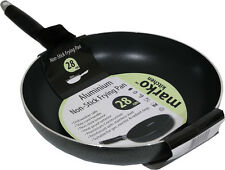 FRYING PAN ALUMINIUM NON STICK COATED COOKING SURFACE KITCHEN COOKING 28CM