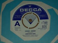 "Jonathan King ""Cherry Cherry"" Decca Demo 45"