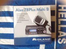 CB Radio MIDLAND ALAN 78 Plus Multi B NUEVO.! última!