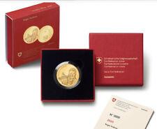"""* Schweiz 50 CHF Franken Gold Münze 2020 Proof """"ROGER FEDERER"""" Wertanlage RAR"""