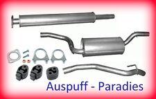 Abgasanlage Auspuffanlage Schalldämpfer Ford Focus II 1.6Ti, 1.8 & 2.0 TypDA+Kit