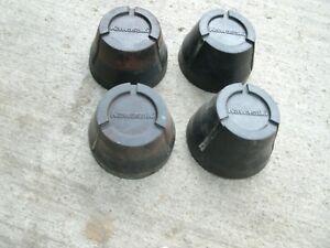 KAWASAKI KXF250 TECATE 4 HUB CAPS AXLE NUT COVER HUB KXF KFX  250 MOJAVE KFX450