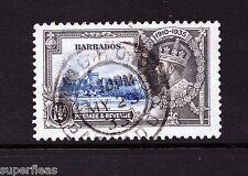 Premium stamp 1935 Barbados 1½ d Sc #187 Θ Used VF CDS