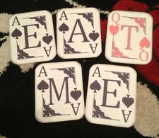 Alice In Wonderland Playing Card Eat Me  Bunting/banner decoration