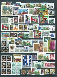 Canada postage stamps C$102.01 No Gum!!