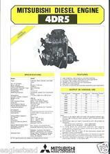 Equipment Brochure - Mitsubishi 4DR5 Engine Power Unit - Farm Industrial (E2299)