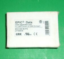 (New) Lapp Epic Data 21700536 Interface Connector w Screw Terminals Qty-2 (Nib)
