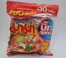 MAMA TOM YUM GOONG SPICY THAI FOOD INSTANT NOODLE SHRIMP SPICY SOUP ORIGINAL