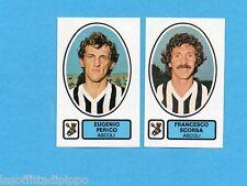 PANINI CALCIATORI 1977/78 - Figurina n.354- PERICO+SCORSA - ASCOLI -Rec