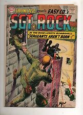 Showcase #45 ORIGIN SGT ROCK by HEATH & KUBERT! Fine- 5.5 1963 TOUGH KEY BOOK!!
